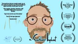 A Cohlear implant film showing me as a deaf. medical film. festival awards. successful.