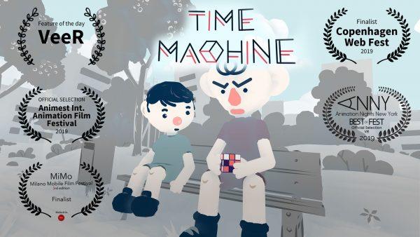 time machine youtube video, virtuelle realität, oculus rift film